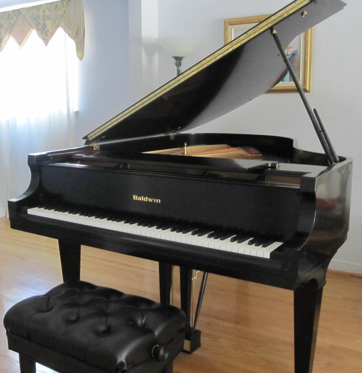 Baldwin model l artist series 6 39 3 grand piano for sale for How big is a grand piano
